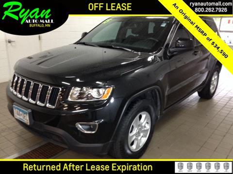 2015 Jeep Grand Cherokee for sale in Buffalo, MN