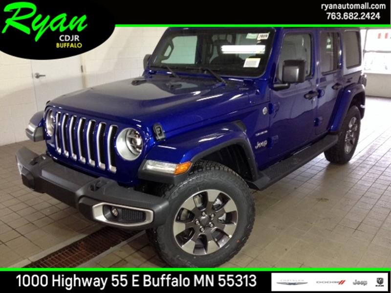 2019 jeep wrangler unlimited 4x4 sahara 4dr suv in buffalo