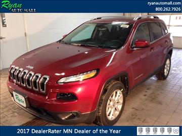 2017 Jeep Cherokee for sale in Buffalo, MN