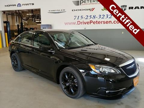 2014 Chrysler 200 for sale in Waupaca, WI