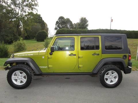 2007 Jeep Wrangler Unlimited for sale in Abingdon, VA