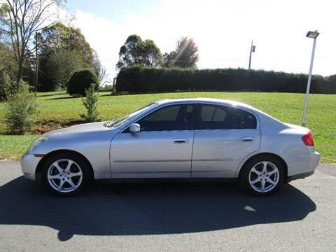 2004 Infiniti G35 for sale in Abingdon, VA
