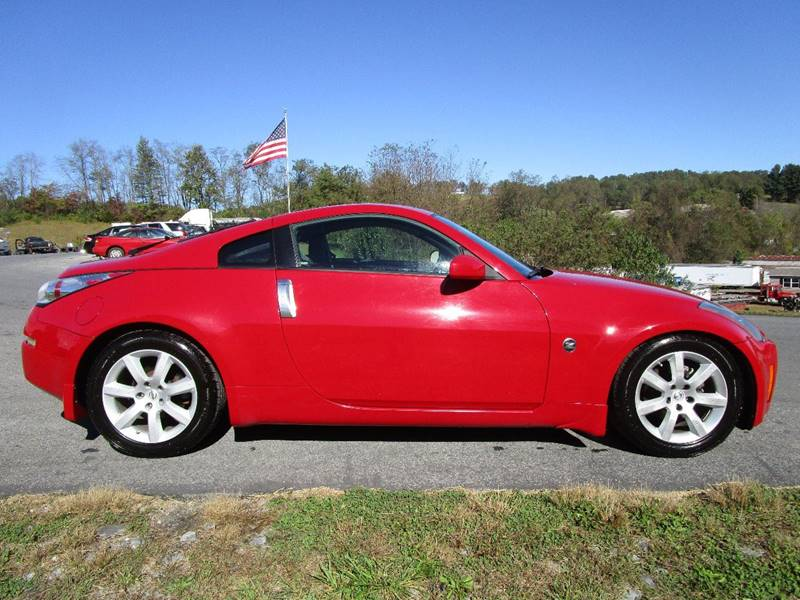 2005 nissan 350z touring 2dr coupe in abingdon va variety auto sales vehicle options sciox Image collections