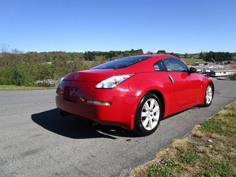 2005 nissan 350z touring 2dr coupe in abingdon va variety auto sales vehicle options sciox Images