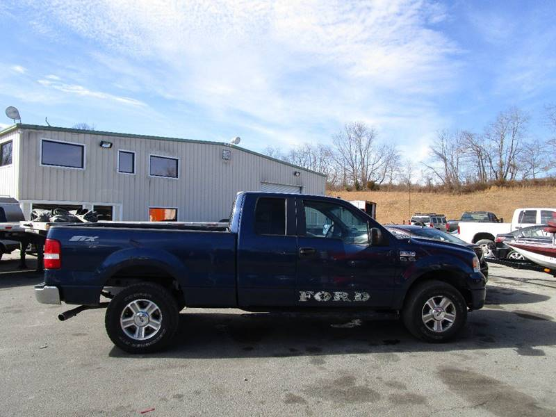 2008 ford f 150 4x4 stx 4dr supercab styleside 6 5 ft sb in abingdon va variety auto sales. Black Bedroom Furniture Sets. Home Design Ideas