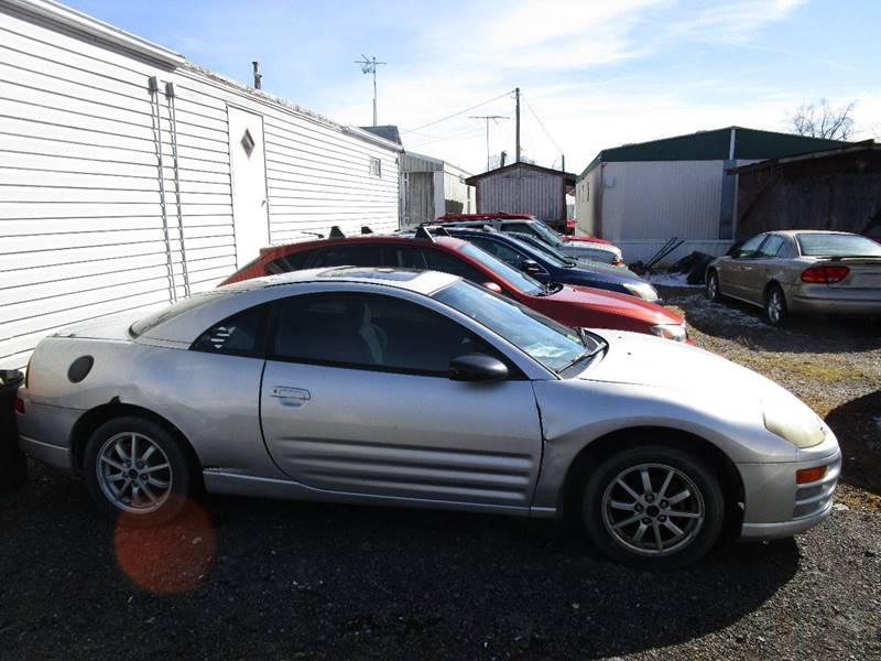 gs lot salvage mitsubishi hatchbac for eclipse front rebuildable sale left view en title