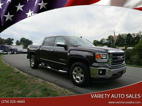 2014 GMC Sierra 1500 for sale at Variety Auto Sales in Abingdon VA
