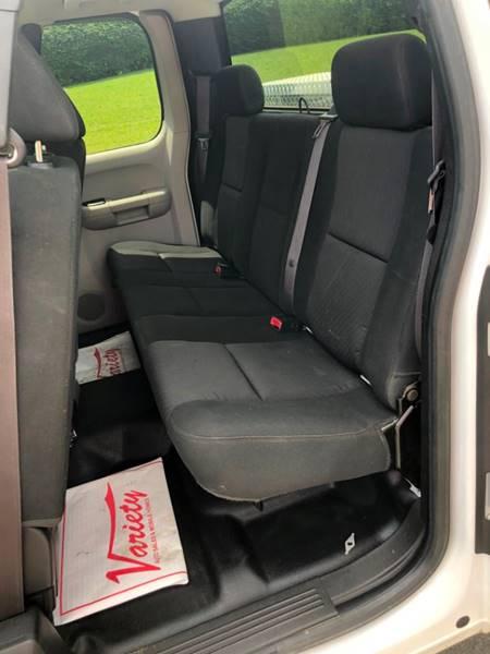2012 Chevrolet Silverado 2500HD 4x4 Work Truck 4dr Extended Cab LB - Abingdon VA