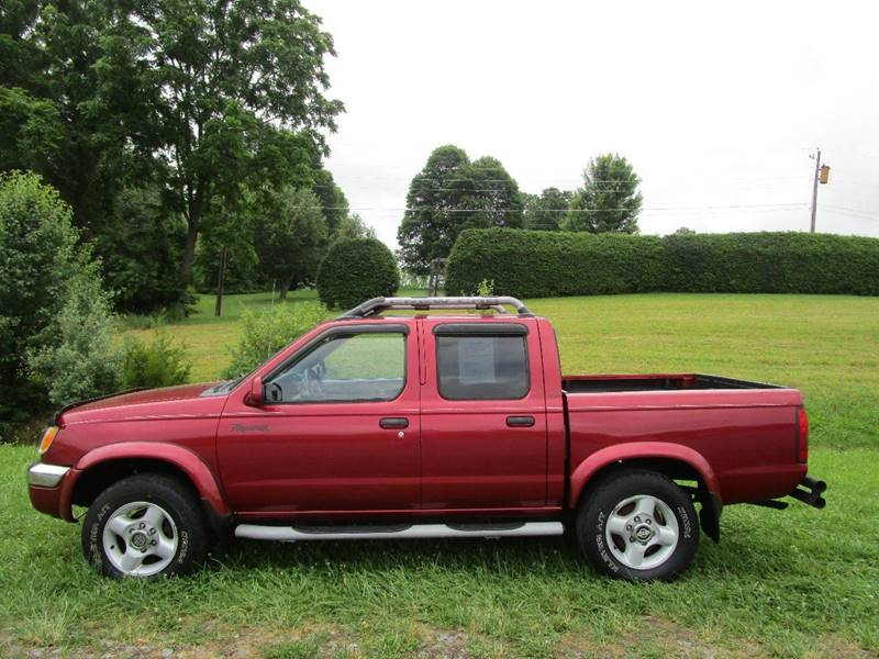 2000 nissan frontier 4dr xe 4wd crew cab sb in abingdon va. Black Bedroom Furniture Sets. Home Design Ideas