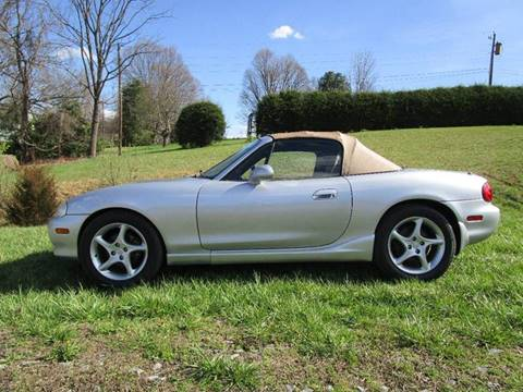 2002 Mazda MX-5 Miata for sale at Variety Auto Sales in Abingdon VA