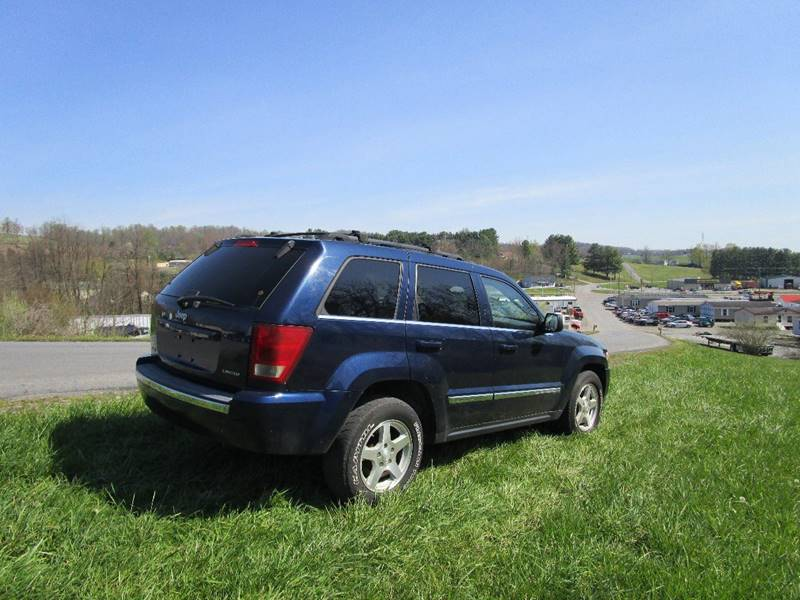 2006 Jeep Grand Cherokee Limited 4dr SUV 4WD w/ Front Side Airbags - Abingdon VA