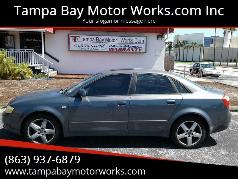 Audi A Dr T Turbo Sedan In Lakeland FL Tampa Bay Motor - 2002 audi a4