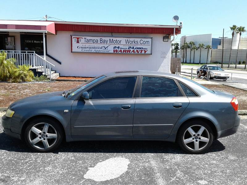 Audi A Dr T Turbo Sedan In Lakeland FL Tampa Bay Motor - 2002 audi