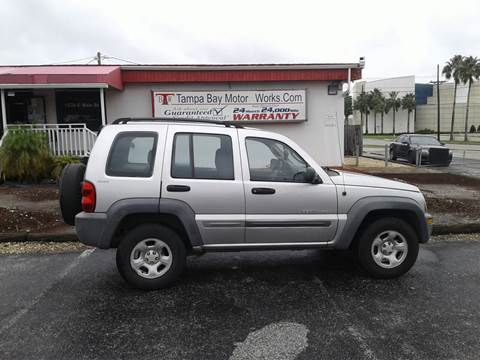 2002 Jeep Liberty for sale in Lakeland, FL