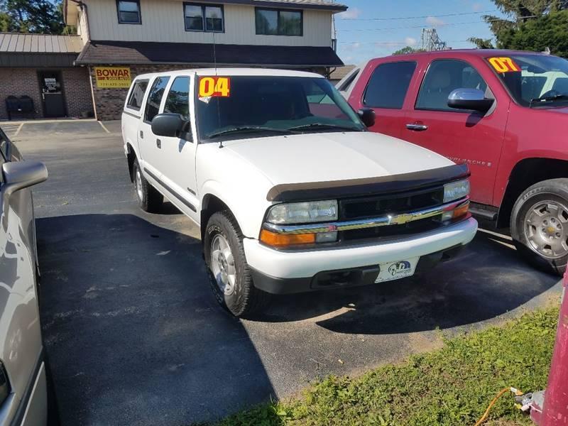2004 Chevrolet S-10 4dr Crew Cab LS 4WD SB - South Beloit IL