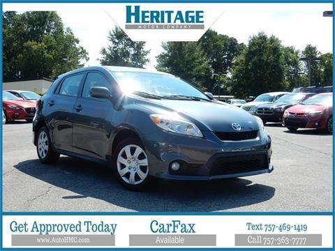 2011 Toyota Matrix For Sale In Jacksonville Fl Carsforsale