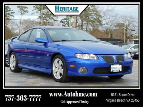 2004 Pontiac GTO for sale in Virginia Beach, VA