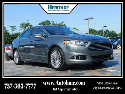 2014 Ford Fusion Hybrid for sale in Virginia Beach, VA