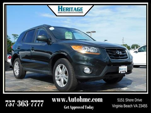 2010 Hyundai Santa Fe for sale in Virginia Beach, VA