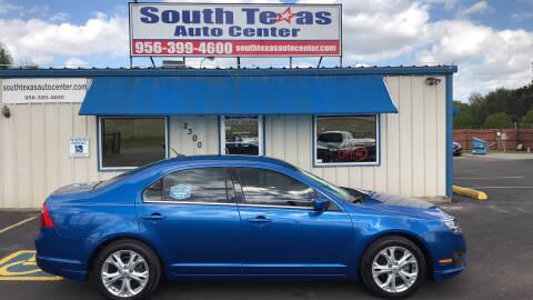 Texas Auto Center >> 2012 Ford Fusion For Sale In San Benito Tx