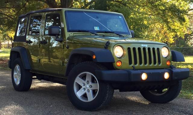 2008 Jeep Wrangler Unlimited for sale at NextCar in Jackson MS