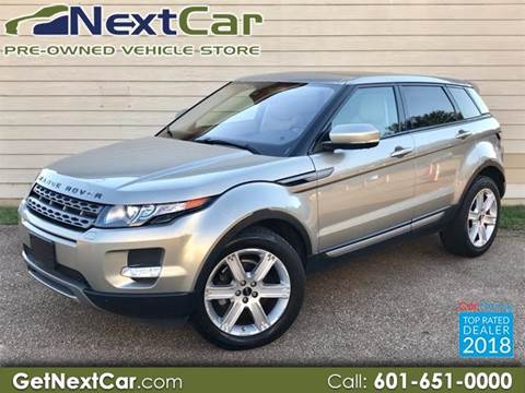 2012 Land Rover Range Rover Evoque for sale in Jackson, MS