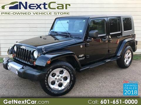 2008 Jeep Wrangler Unlimited for sale in Canton, MS