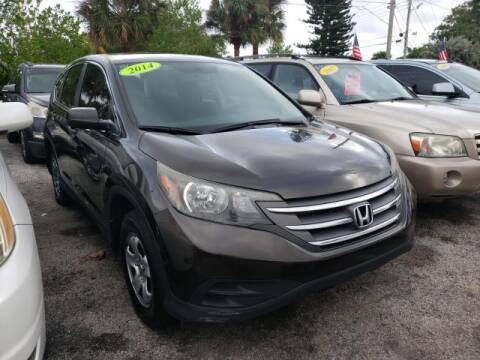 2014 Honda CR-V for sale at Mike Auto Sales in West Palm Beach FL