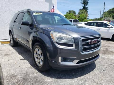 2014 GMC Acadia for sale at Mike Auto Sales in West Palm Beach FL