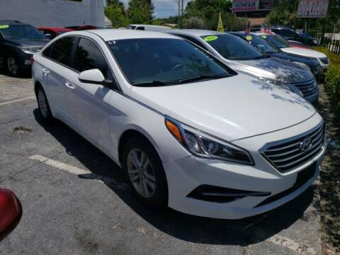2017 Hyundai Sonata for sale at Mike Auto Sales in West Palm Beach FL