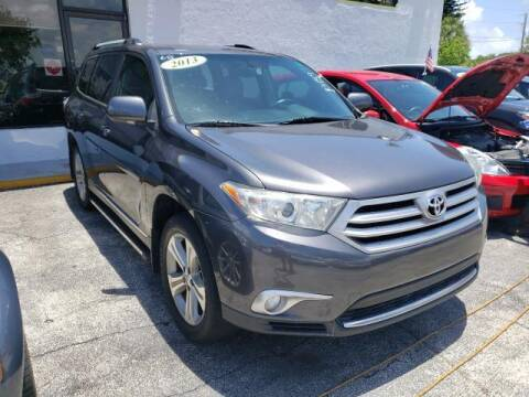 2013 Toyota Highlander for sale at Mike Auto Sales in West Palm Beach FL