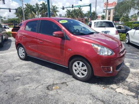 2015 Mitsubishi Mirage for sale at Mike Auto Sales in West Palm Beach FL