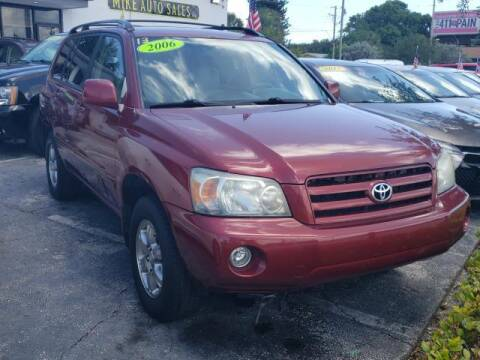2006 Toyota Highlander for sale at Mike Auto Sales in West Palm Beach FL