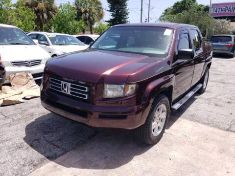 2008 Honda Ridgeline for sale at Mike Auto Sales in West Palm Beach FL
