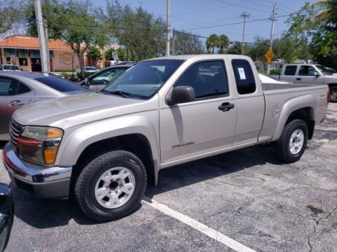 2004 GMC Canyon for sale at Mike Auto Sales in West Palm Beach FL