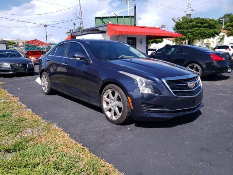 2015 Cadillac ATS for sale at Mike Auto Sales in West Palm Beach FL