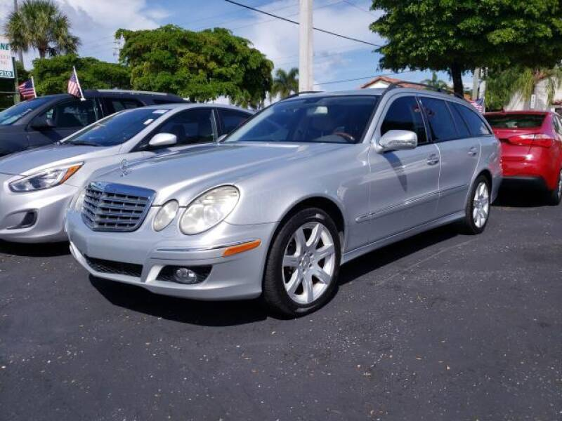 2007 Mercedes-Benz E-Class for sale at Mike Auto Sales in West Palm Beach FL