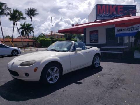 2007 Mazda MX-5 Miata for sale at Mike Auto Sales in West Palm Beach FL