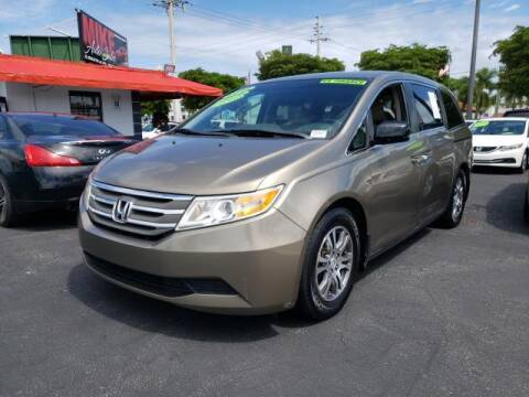 2012 Honda Odyssey for sale at Mike Auto Sales in West Palm Beach FL