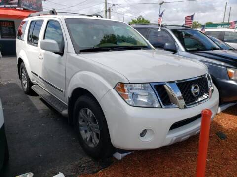 2008 Nissan Pathfinder for sale at Mike Auto Sales in West Palm Beach FL