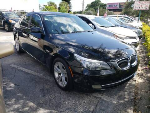 2009 BMW 5 Series for sale at Mike Auto Sales in West Palm Beach FL