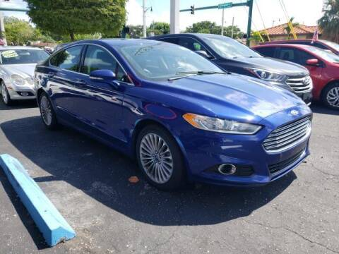 2016 Ford Fusion for sale at Mike Auto Sales in West Palm Beach FL