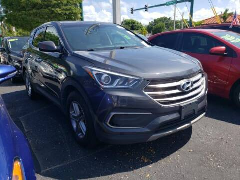 2018 Hyundai Santa Fe Sport for sale at Mike Auto Sales in West Palm Beach FL