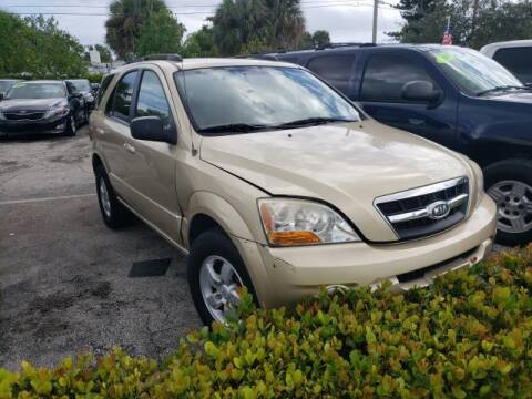 2009 Kia Sorento for sale at Mike Auto Sales in West Palm Beach FL