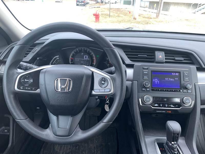 2017 Honda Civic LX 4dr Sedan CVT - Farmington MN