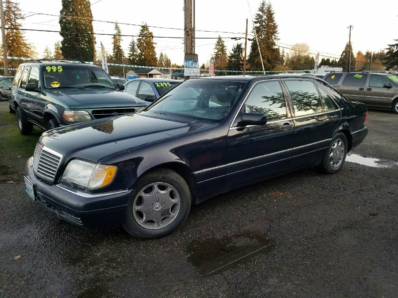 1996 mercedes benz s class s600 4dr sedan in vancouver wa for Mercedes benz vancouver wa