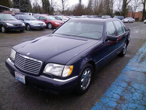 1996 mercedes benz s class for sale for Mercedes benz vancouver wa