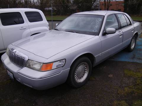 1998 Mercury Grand Marquis for sale in Vancouver, WA