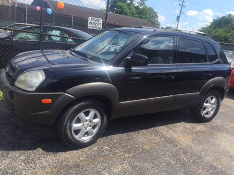 2005 Hyundai Tucson for sale at STL AutoPlaza in Saint Louis MO