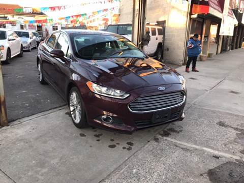 2013 Ford Fusion for sale in Staten Island, NY